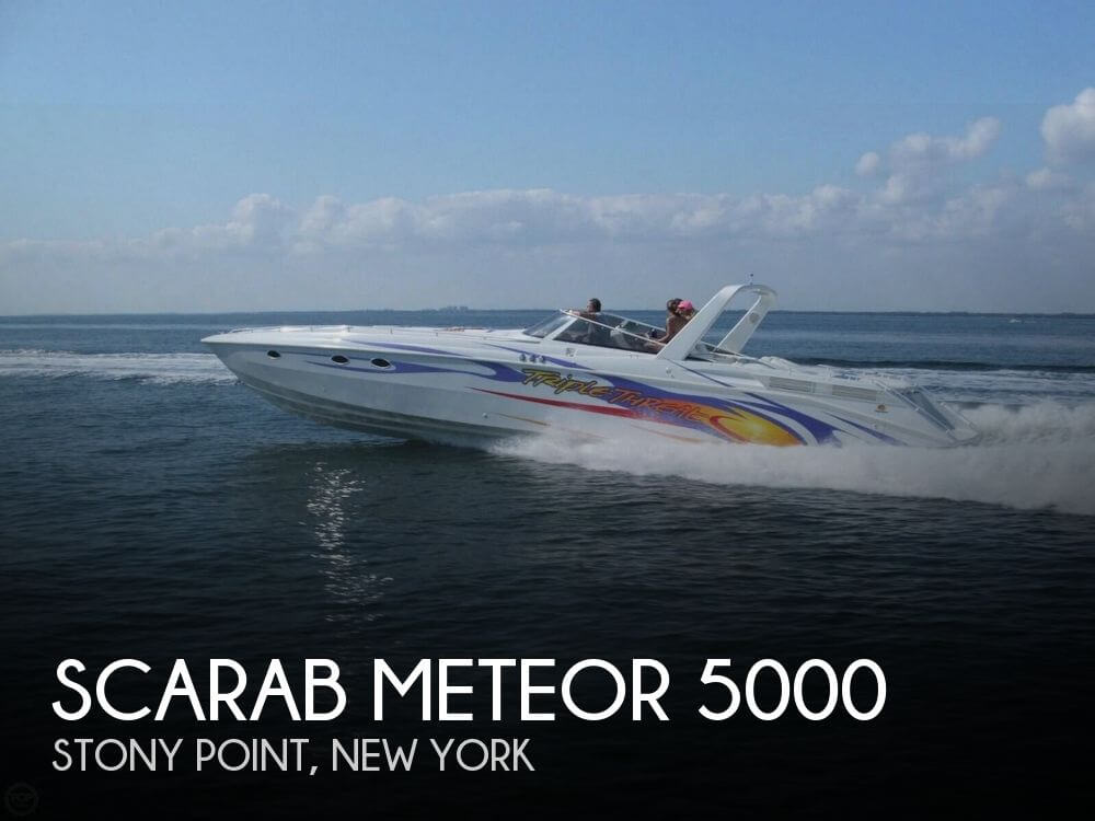 Used Boats For Sale in New York, New York by owner | 1988 Scarab 45
