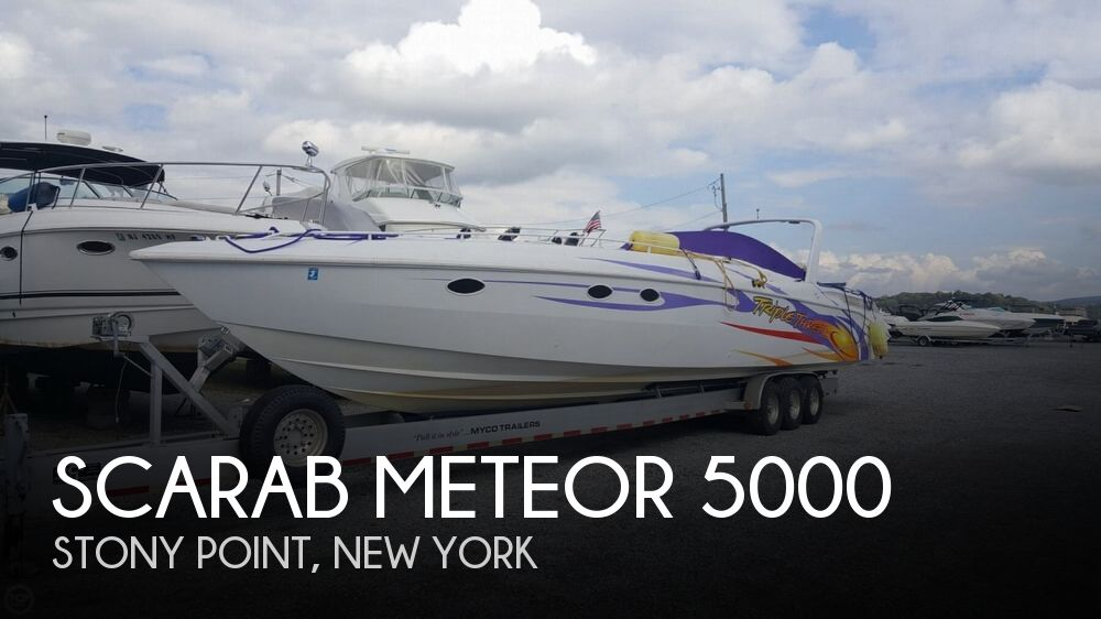 1988 Scarab boat for sale, model of the boat is Meteor 5000 & Image # 1 of 40
