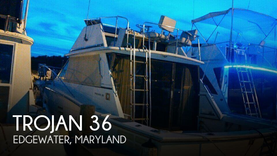 Used Fishing boats For Sale in Maryland by owner | 1979 Trojan 36