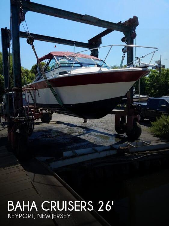 1981 BAHA CRUISERS 26 FISHERMAN for sale