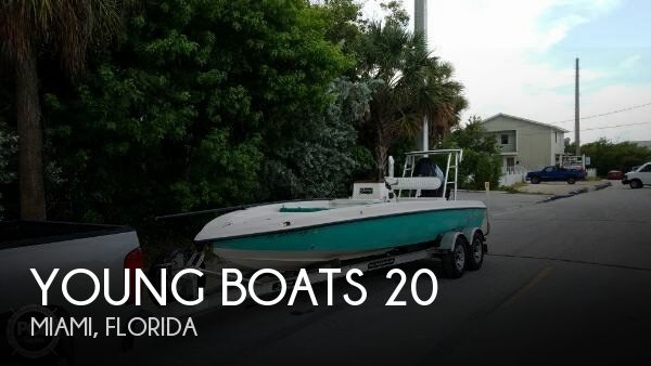 For Sale Used 2003 Young Boats 20 In Miami Florida