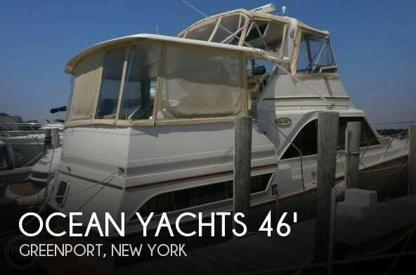 Used Boats For Sale in Providence, Rhode Island by owner | 1983 Ocean Yachts 46