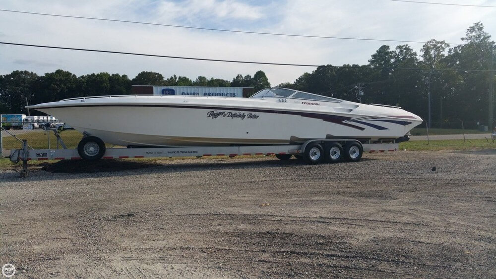 1999 FOUNTAIN 47 LIGHTNING for sale