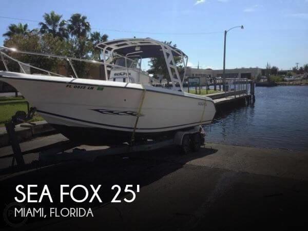 Sea Fox Boats For Sale In Miami Florida Used Sea Fox