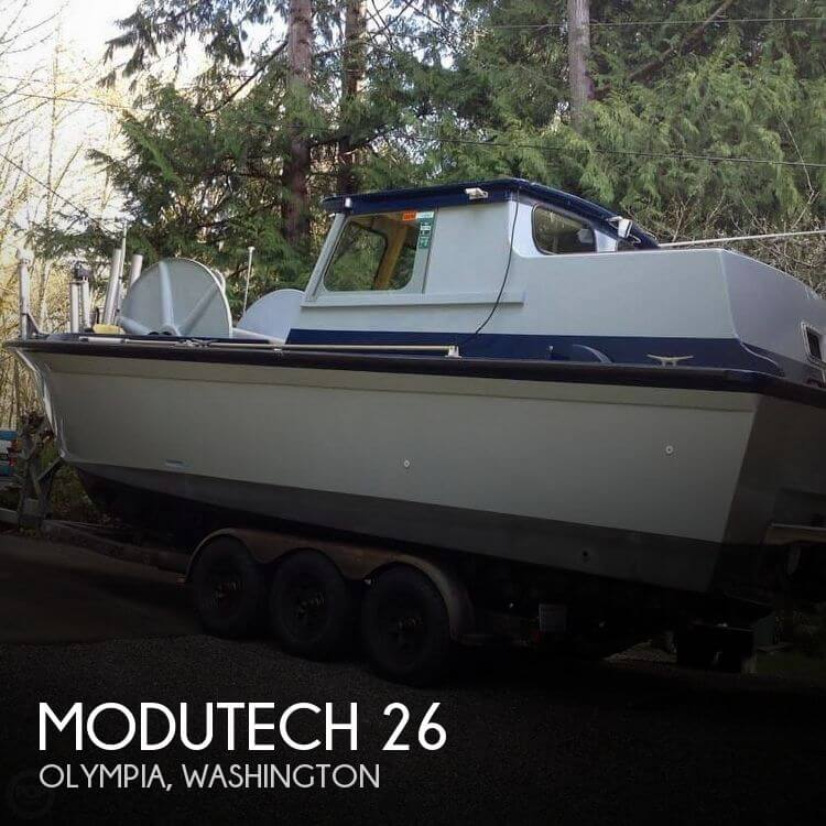 Used Boats For Sale in Olympia, Washington by owner | 1976 Modutech 26