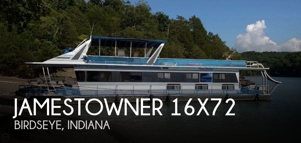 Used Houseboats For Sale by owner | 1990 Jamestowner 72