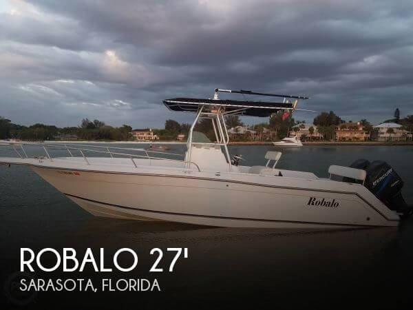1999 robalo 27 power boat for sale in sarasota fl for Sarasota motor vehicle registration
