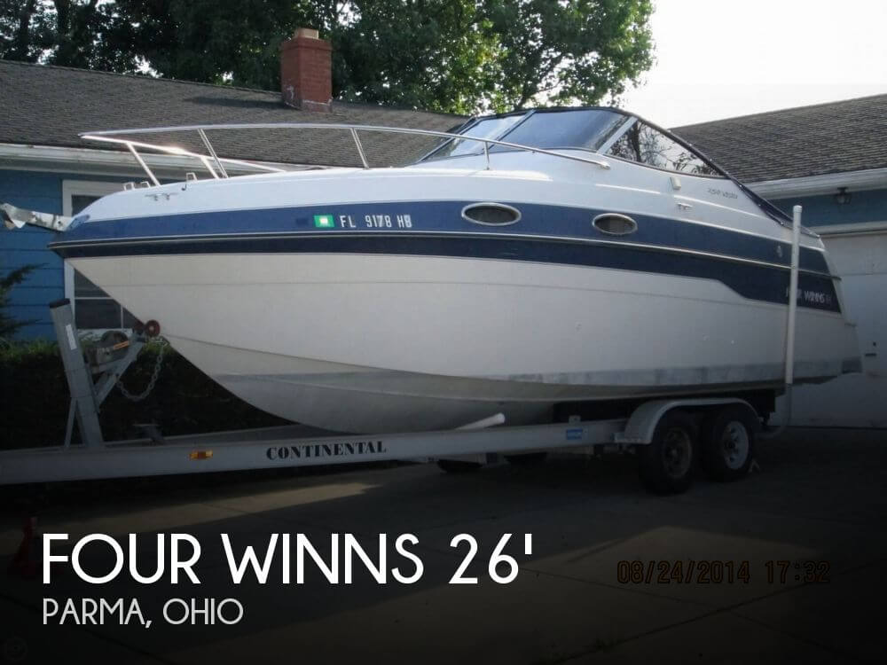 Used Four Winns 26 Boats For Sale by owner | 1996 Four Winns 26