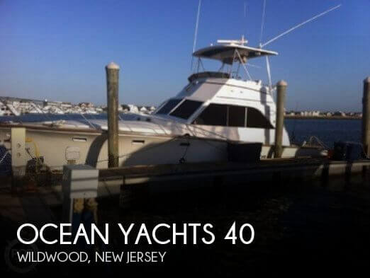 Used Ocean Yachts Boats For Sale by owner | 1979 Ocean Yachts 40