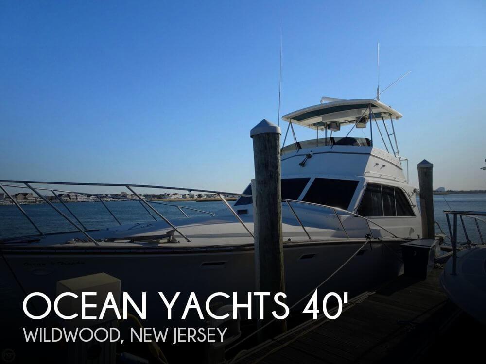 Sold ocean yachts 40 super sport boat in wildwood nj for Fishing wildwood nj