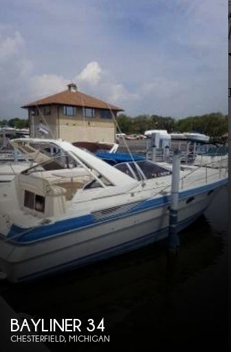 Used Bayliner Boats For Sale in Michigan by owner | 1987 Bayliner 34