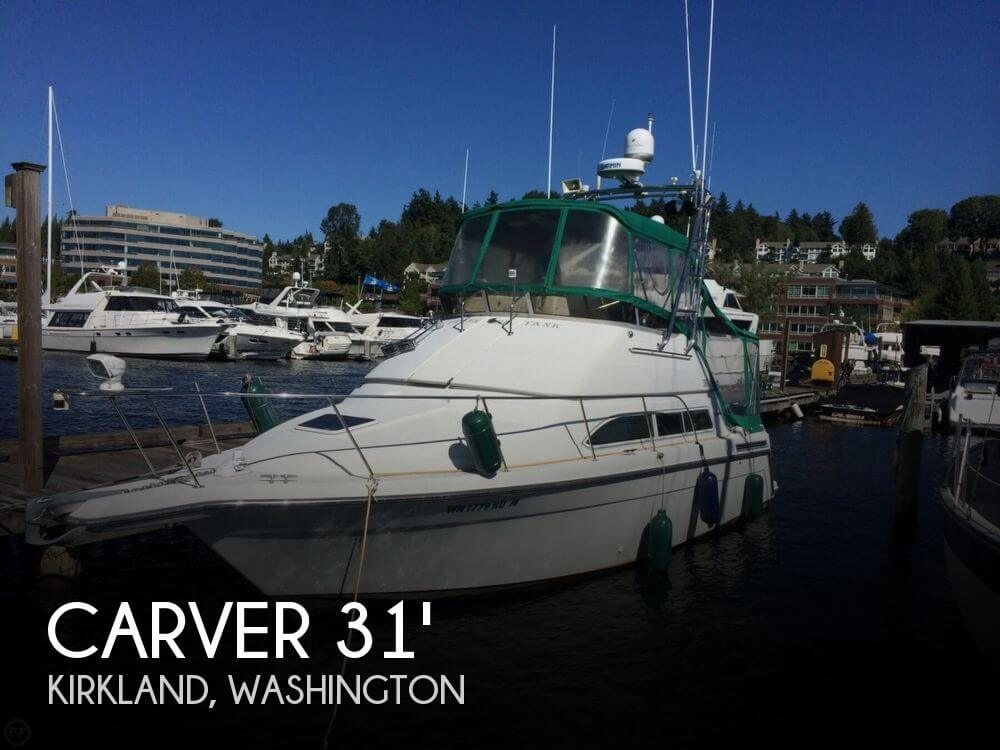 Used Carver Boats For Sale in Washington by owner | 1995 Carver 31