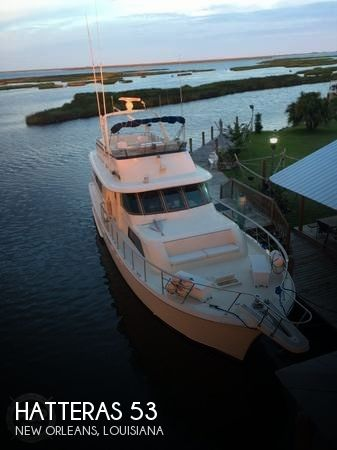 Used Boats For Sale in New Orleans, Louisiana by owner | 1984 Hatteras 53
