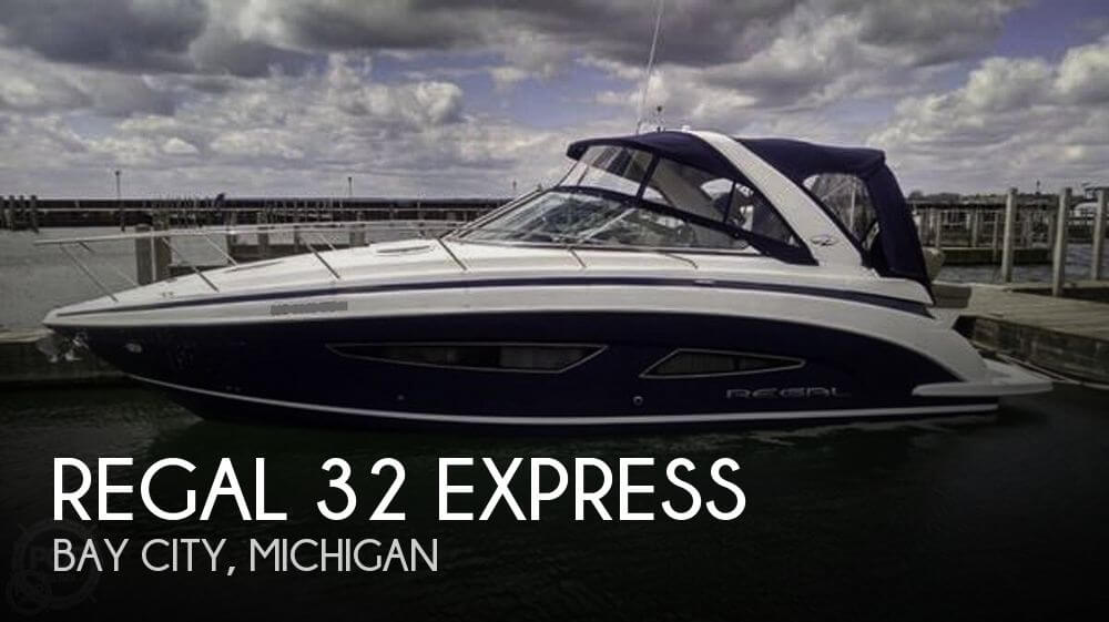 Used Boats For Sale in Michigan by owner | 2015 Regal 32 Express