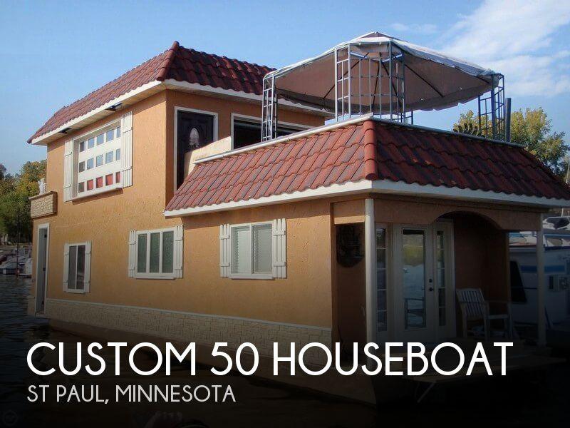 2012 Custom 50 Houseboat