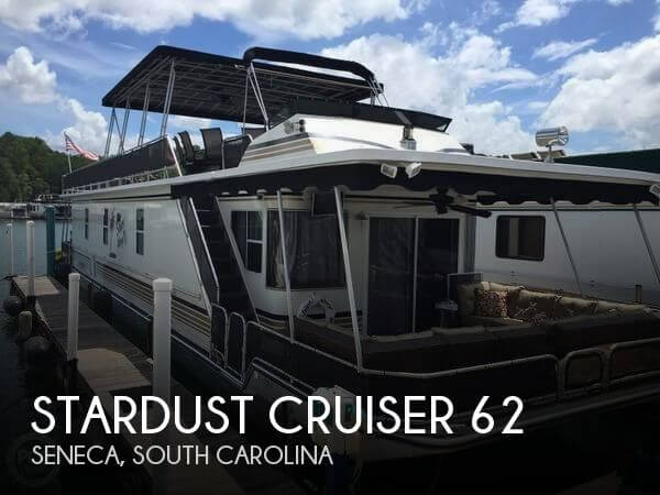Used Houseboats For Sale by owner | 2001 Stardust Cruiser 62