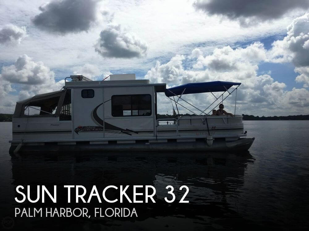 Used Sun Tracker Pontoon Boats For Sale by owner | 2004 Sun Tracker 32