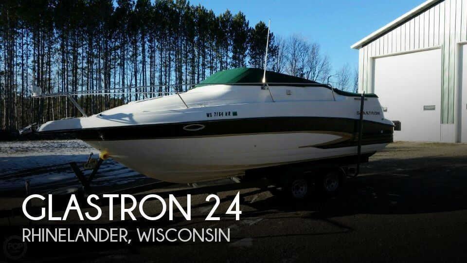 Used Boats For Sale in Wausau, Wisconsin by owner | 2001 Glastron 24
