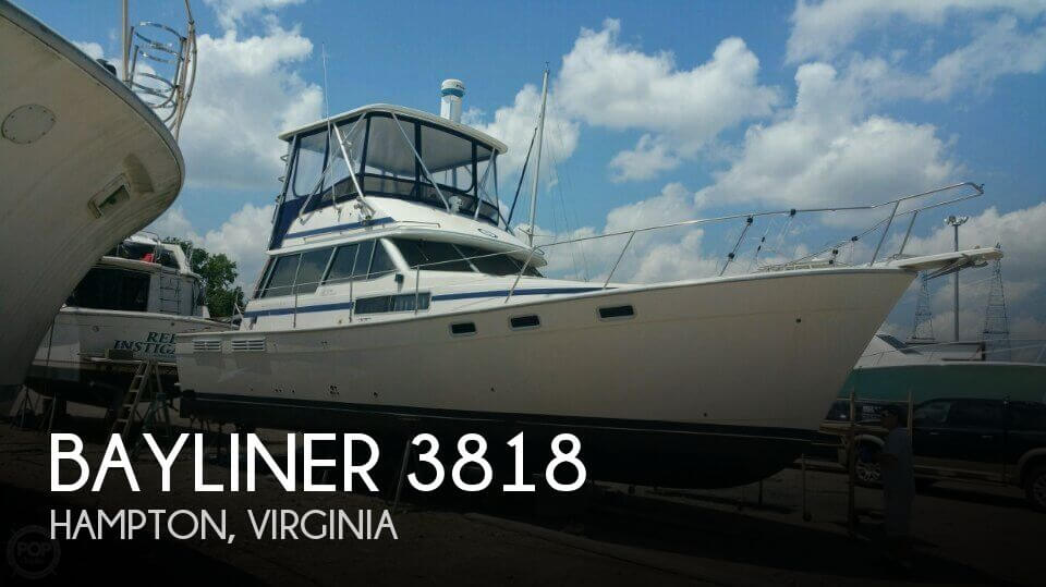1988 BAYLINER 3818 for sale