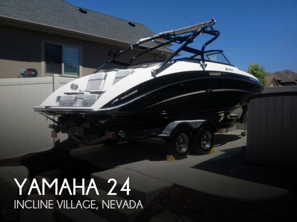 Yamaha 24 39 boat for sale in incline village nv for for Yamaha 24 boat