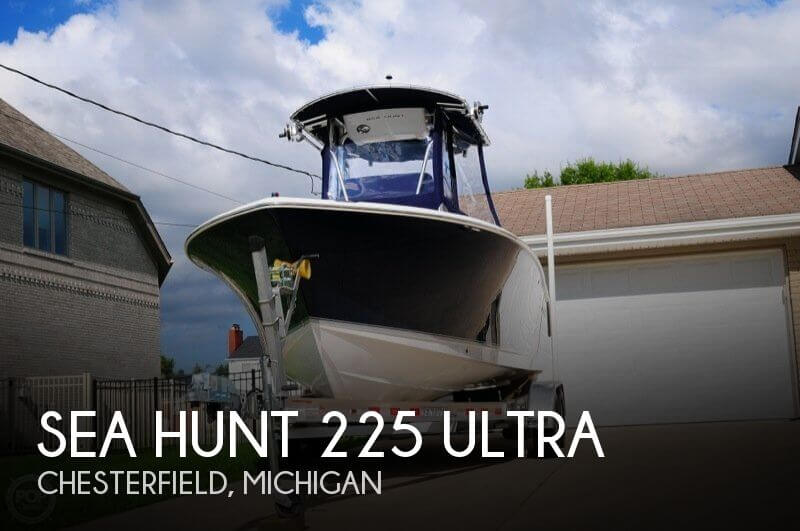 For sale used 2013 sea hunt 225 ultra in chesterfield for Lightweight outboard motors for sale