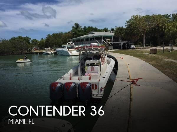 Used Contender Boats For Sale by owner | 2005 Contender 36