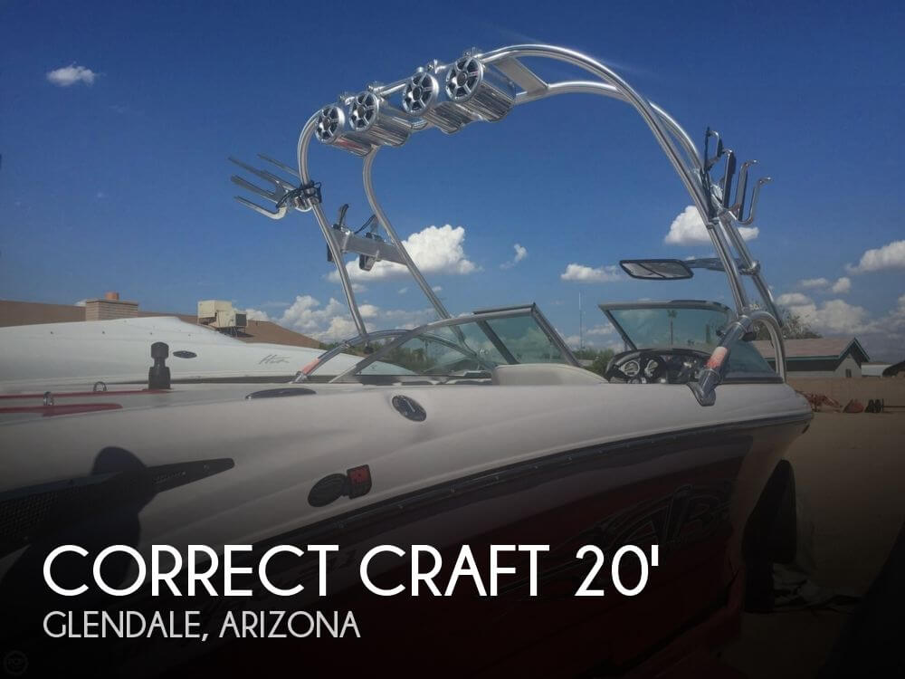Used Correct craft Boats For Sale by owner | 2006 Correct Craft Sport SV 211