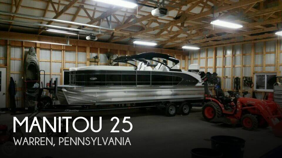 Used Boats For Sale in Pennsylvania by owner | 2016 Manitou 25