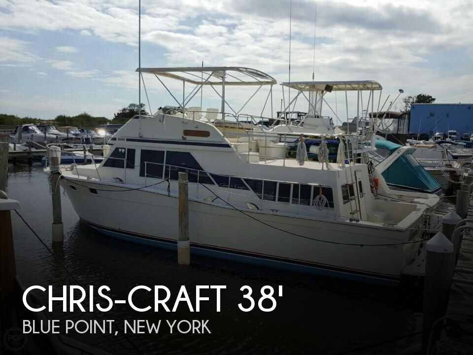 Used Chris-Craft Boats For Sale in New York by owner | 1979 Chris-Craft 380 Corinthian