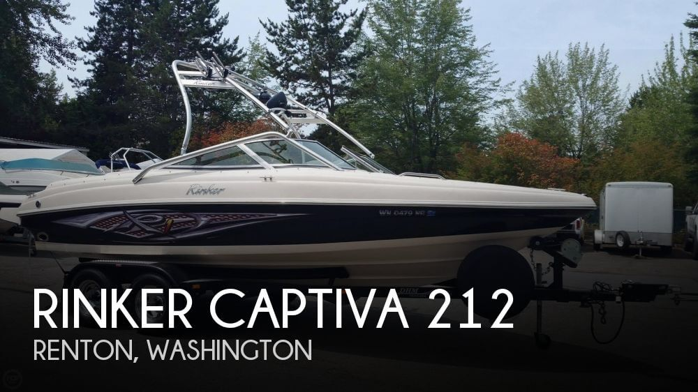 2005 RINKER CAPTIVA 212 for sale
