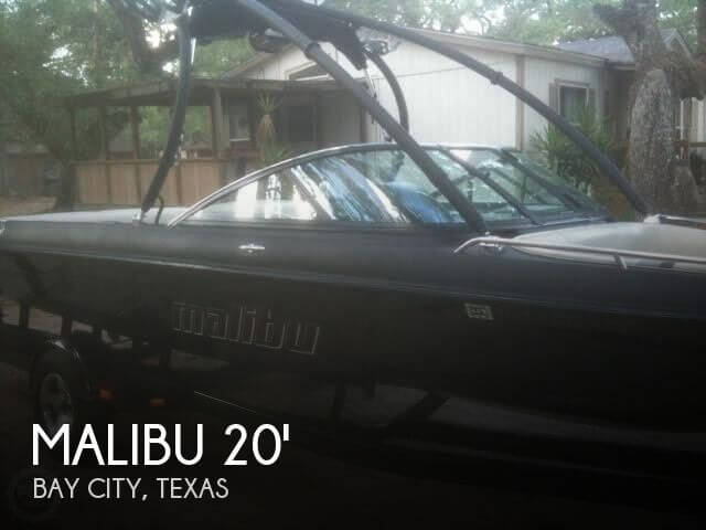 Used MALIBU Boats For Sale in Texas by owner   2005 Malibu 20