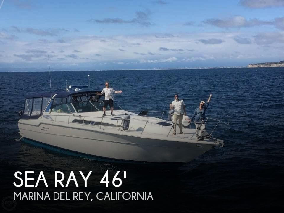 Used Sea Ray Boats For Sale in California by owner | 1987 Sea Ray 45