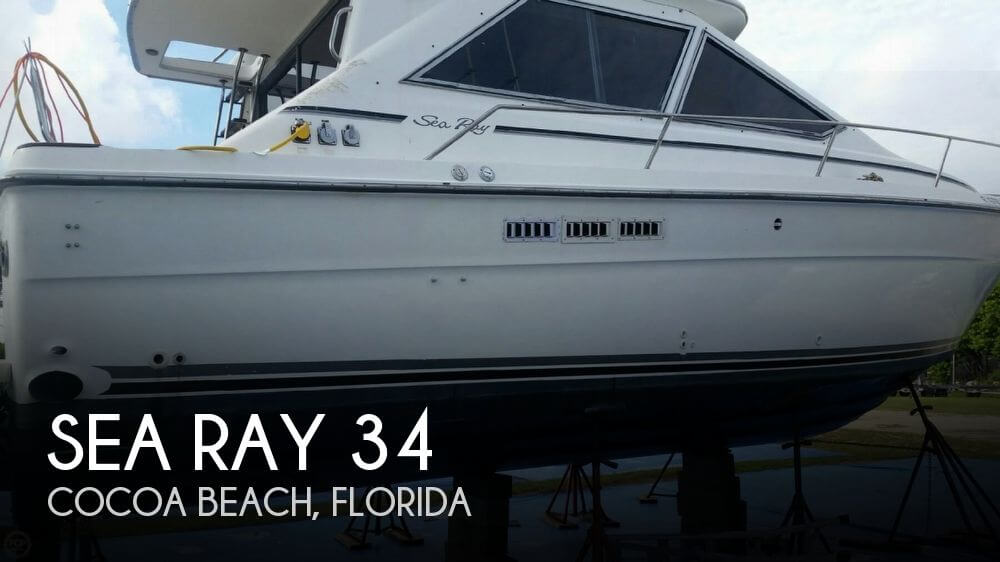 Used Sea Ray 34 Boats For Sale by owner | 1989 Sea Ray 34