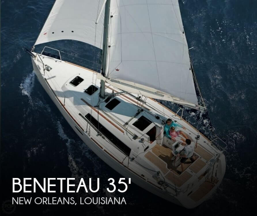 Used Boats For Sale in New Orleans, Louisiana by owner | 2016 Beneteau 35