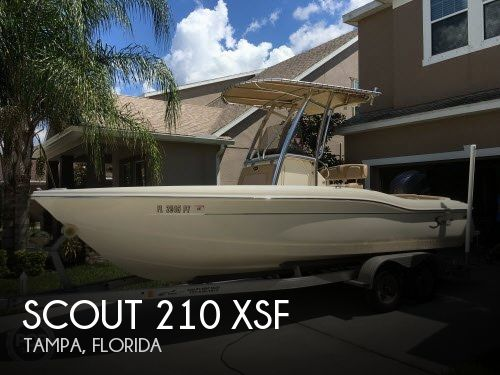 For Sale Used 2014 Scout 210 Xsf In Tampa Florida Boats