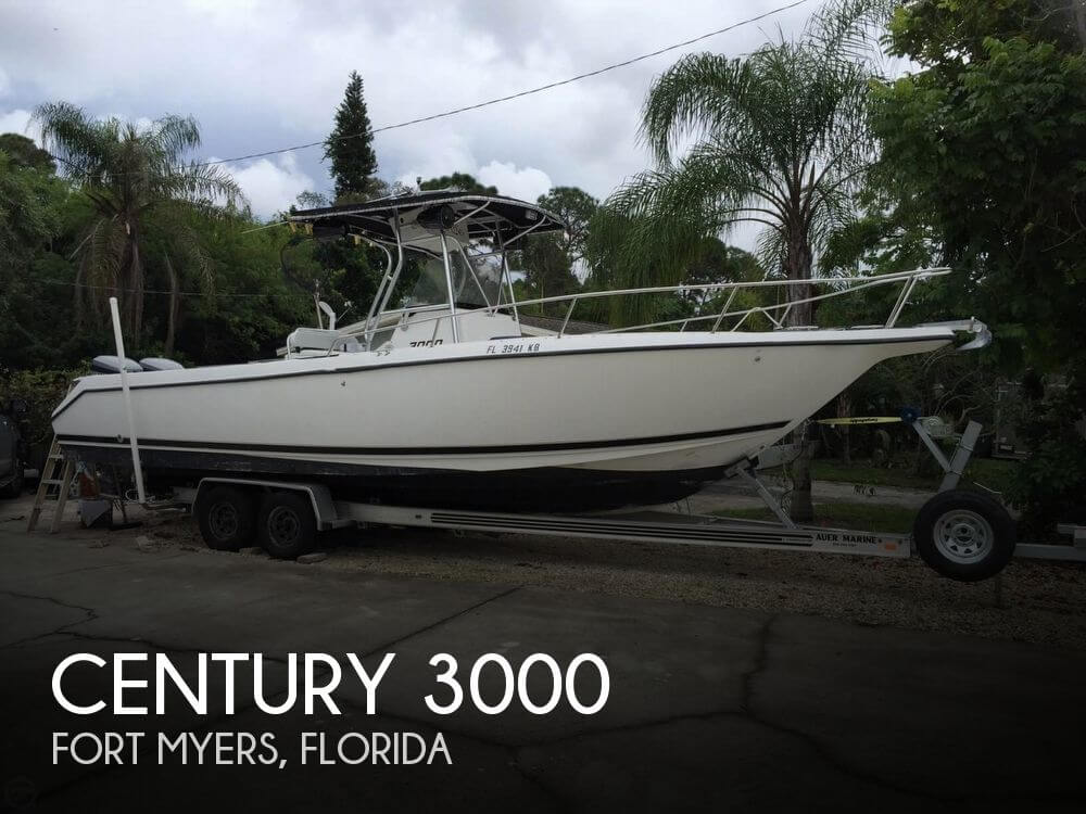 Used Century Boats For Sale by owner   1999 Century 30