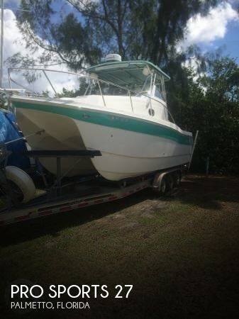 Used Pro Sports Boats For Sale by owner | 2005 Pro Sports 27