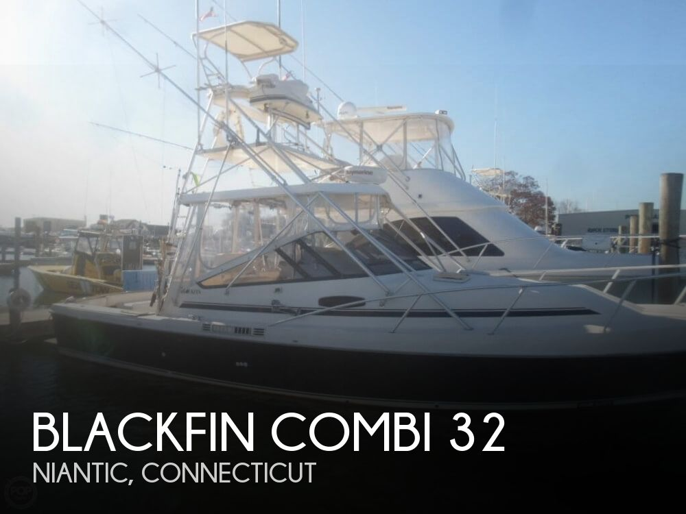 1989 BLACKFIN COMBI 32 for sale