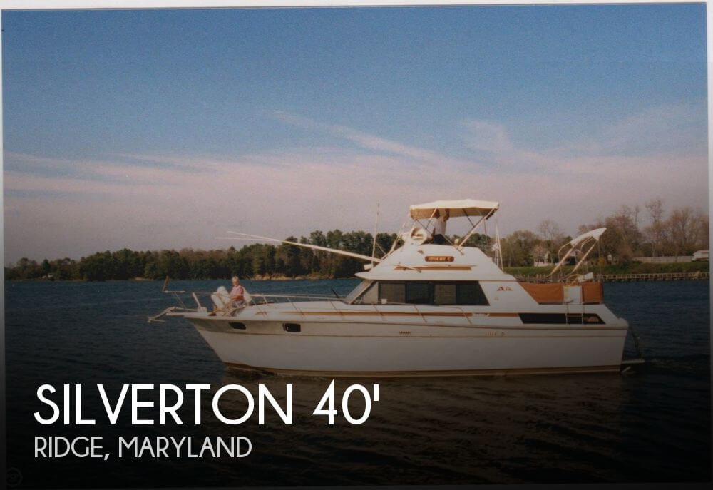 For Sale: Used 1982 Silverton 40 Aft Cabin In Ridge Maryland | Boats For Sale # 2304693
