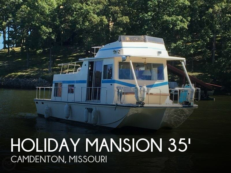 Used Holiday Mansion Houseboats For Sale by owner | 1978 35 foot Holiday Mansion Barracuda