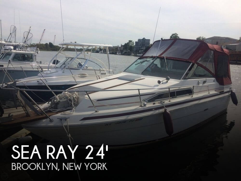 Used 1984 Sea Ray 245 SRV Cruiser For Sale
