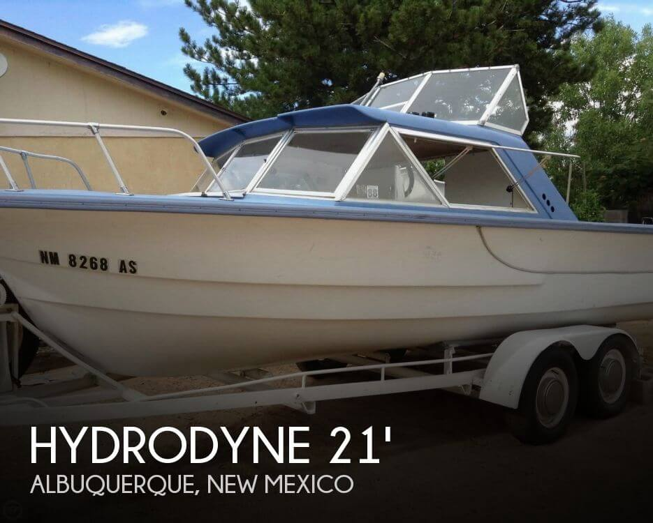 Used Boats For Sale in Albuquerque, New Mexico by owner | 1967 Hydrodyne 21