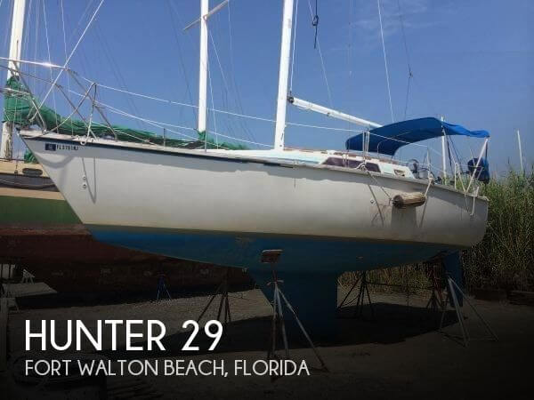 1986 Hunter 29 - Photo #1