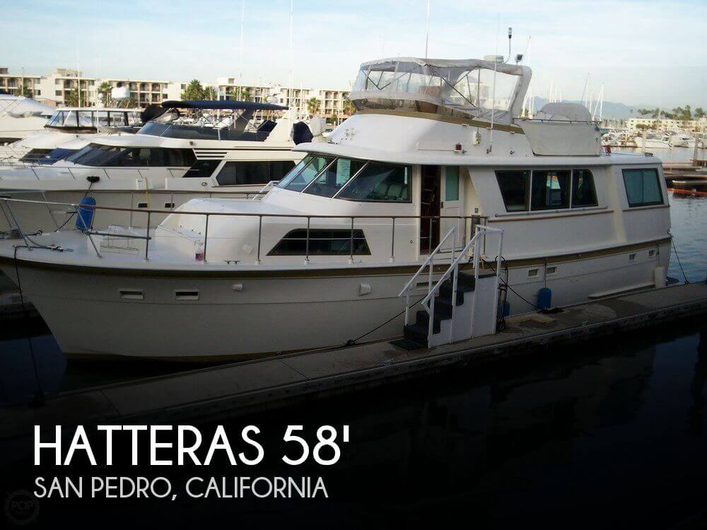 Used Motoryachts For Sale by owner | 1979 Hatteras 65