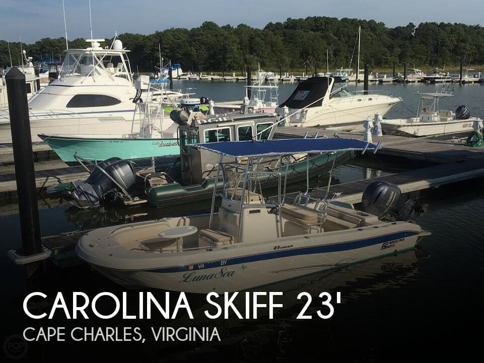 2015 CAROLINA SKIFF 23 ULTRA ELITE for sale