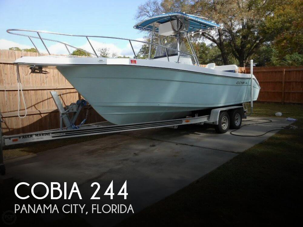 Cobia 244 for sale in panama city fl for 27 800 pop yachts for Panama city florida fishing