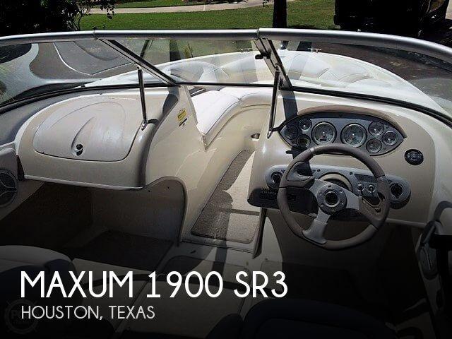 For sale used 2007 maxum 1900 sr3 in houston texas for Mega motors houston tx
