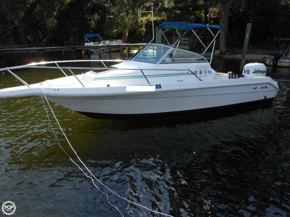 1993 Sea Ray boat for sale, model of the boat is Laguna 21 WA & Image # 4 of 40