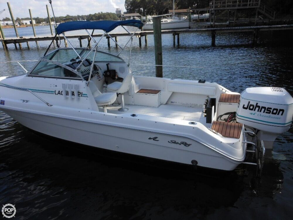 1993 Sea Ray boat for sale, model of the boat is Laguna 21 WA & Image # 30 of 40