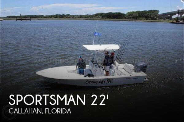 2015 SPORTSMAN BOATS 227 MASTERS BAY BOAT for sale